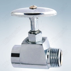 Brass Stop Valve Polished,Chromed