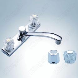 double handle sink tap