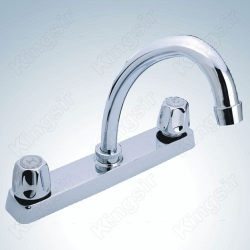 double handle sink tap