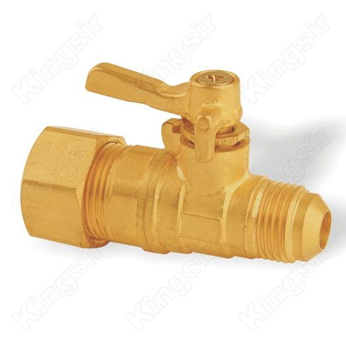 Brass Mini Ball Valve With Pipe Union