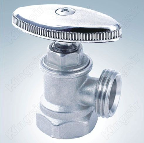 Brass Angle Valve Nickel Plated