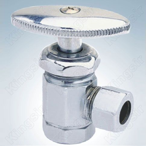 Zinc Angle Valves With Pipe Union