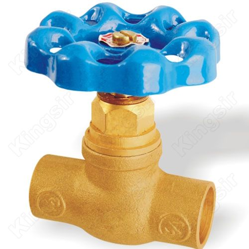 Brass Stop Valve With Solder Ends