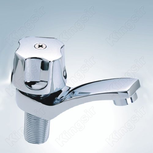 Basin Brass Water Taps Zinc Knob