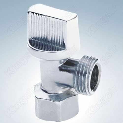 Brass Angle Valve Chrome Plated