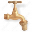 Brass Taps With Hose Union