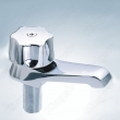 Basin Brass Water Taps Zinc Knob