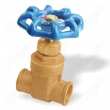 Brass Gate Valves Solder Ends