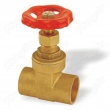 Brass Gate Valves With Solder Ends