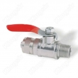 Brass Mini Ball Valves Nickel Plated