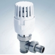 Angle Radiator Valve With Thermostatic Head
