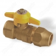 Brass Ball Valves With Solder Cap Reduced Port